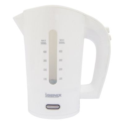Igenix IG7102 0.5 Litre Travel Jug Kettle - White