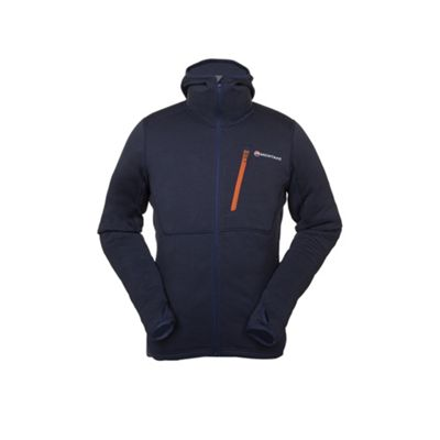 Montane Mens Power Up Softshell Hoodie Antartic Blue M