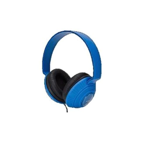 Imation Corp TDK MP100 DJ Style Headphones Blue