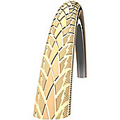 Schwalbe Road Cruiser Tyre: 26 x 1.75 Creme-Reflex Wired. HS 377, 47-559, Active Line, Kevlar Guard