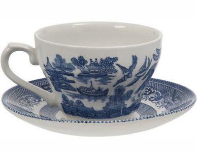 Churchill Blue Willow Tea Saucer 14cm