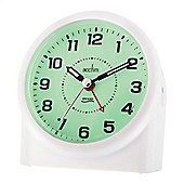 Acctim 14282 Central Smartlite Alarm Clock - White