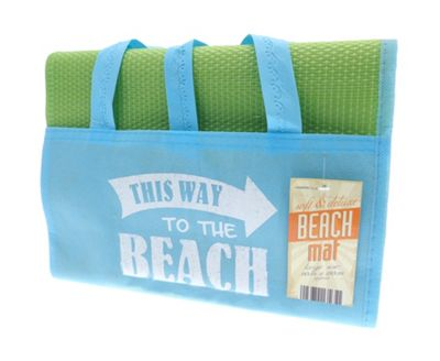 Buy Country Club Blue And Green Beach Mat To The Beach Design From