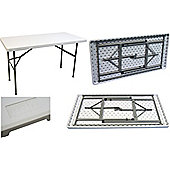 Harbour Housewares Events, Trestle Table - 4ft Long. Foldable. Easy To Store