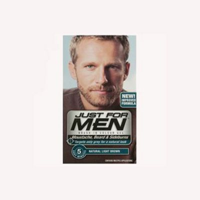 Buy Just For Men Brush In Colour Gel for Moustache, Beard ...
