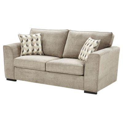 Boston Medium 2.5 Seater Sofa, Taupe