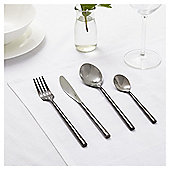Fox & Ivy Noir 16 Piece Cutlery Set