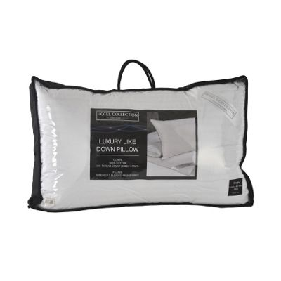 Luxury Hotel Collection Microfibre Single Pillow