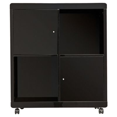 Viva Office Storage Cube , Black