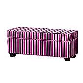 Sofa Collection Valentina Footstool - Purple