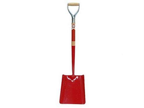 Faithfull Solid Socket Shovel Square 2Myd