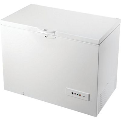 indesit chest freezer os 1a 300 h uk white - Chest Freezers On Sale