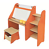 Liberty House Toys Artists Drawing Desk and Stool Set