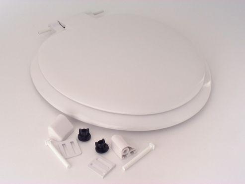 Celmac Sonata Toilet Seat&Lid H/D White