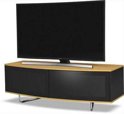 MDA Designs Caru TV Stand for up to 65 inch TVs - Oak