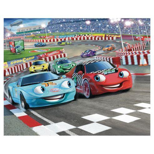 Car Racer Wallpaper Mural 8ft x 10ft