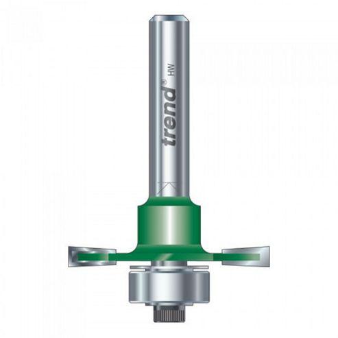 Trend C145 X 1/4 Tungsten Carbide Slotting Cutter 6.3mm