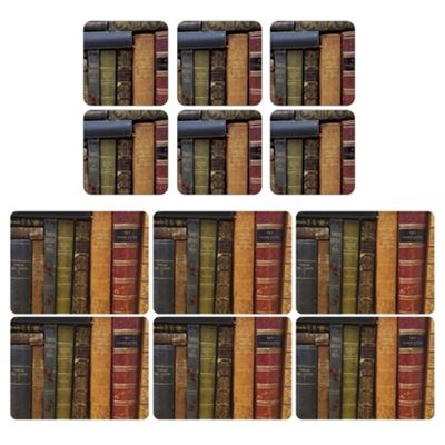 Pimpernel Archive Books Placemats and Coasters Set of 6