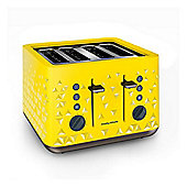Morphy Richards 248108 4 Slice Toaster, with 1800W, and Variable Browning Control, in Yellow