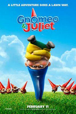 Gnomeo & Juliet Blu-Ray - Festive Sleeve