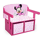 Disney Minnie Mouse Convertible Desk and bench