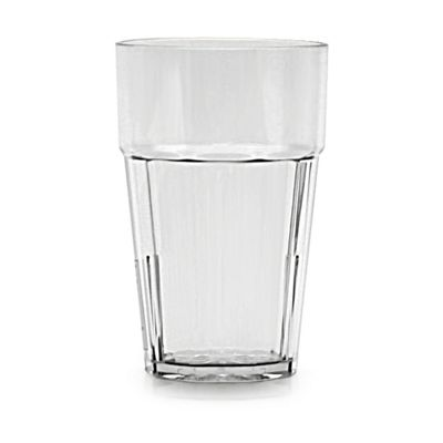 Clarity 20 oz Diamond Tumbler - Clear (8 Pack)