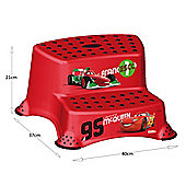 Disney Cars 2 Double Step Stool - Red - Lightning McQueen