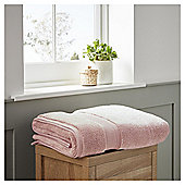 Fox & Ivy Supremely Soft Rose Pink Bath Sheet