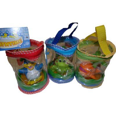 Bathtime Bath Toy In A Bag
