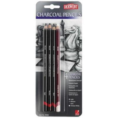Dwt Charcoal Pencil Blister 4
