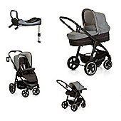 Hauck Soul Plus Trio with Isofix Base - Grey/Caviar