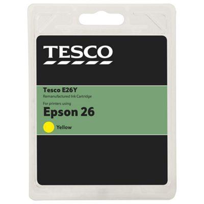 Tesco E2614 Yellow