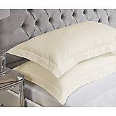 Julian Charles Luxury 180 Thread Count Oxford Pillowcases - Champagne