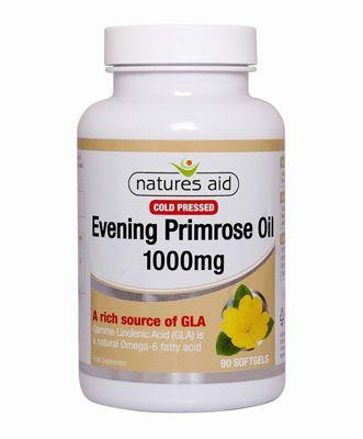 Natures Aid Evening Primrose 1000mg - 90 Capsules