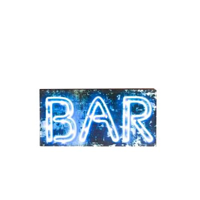 Wooden Bar Light