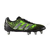 adidas Kakari SG Rugby Boots - CBLACK/SGREEN - Black