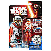"Star Wars The Force Awakens 3.75"" Figure Snow Mission X-Wing Pilot Asty"