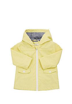 F&F Rubberised Hooded Mac - Yellow
