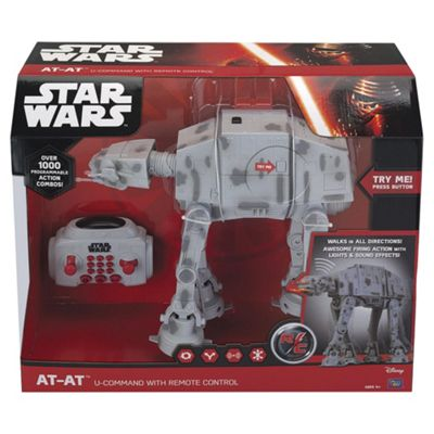 Classic Star Wars Saga At-At U-Command With Remote Control
