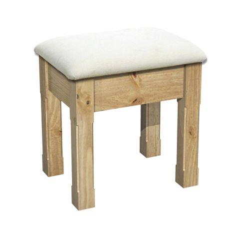Kelburn Furniture Woodland Pine Dressing Table Stool