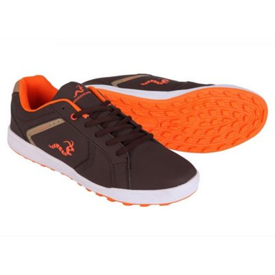 Woodworm Surge V2 Golf Shoe- Brown/Orange Size 9.5