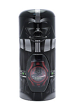 Children's Star Wars Digital Watch In Gift Tin (Darth Vader)