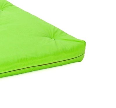 Comfy Living 4ft Small Double Futon Mattress in Lime