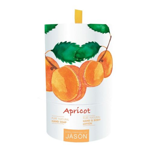 Jason Apricot Hand Soap and Hand & Body Lotion Gift Set