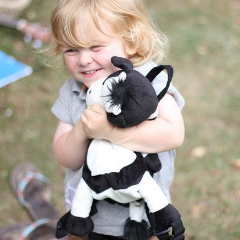 Bobo Buddies Toddler Backpack with Rein Dusty the Cow