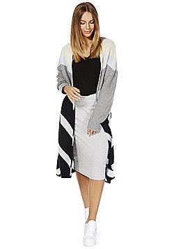 Vero Moda Long Line Cardigan - Navy