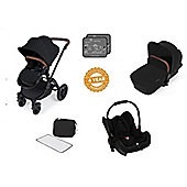 Ickle Bubba Stomp V3 AIO Travel System - Black (Black Chassis)