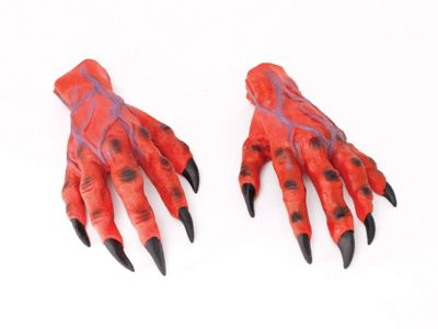 Horror Hands Red