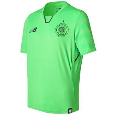 New Balance Celtic FC 2017/18 Kids Third Shirt Green - Medium Boys
