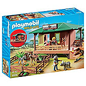 Playmobil Wild Life 6936 Ranger Station with Animal Area
